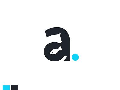 Aquarius - Daily logo Challenge dailylogochallenge illustration flat minimal typography logo ui design daily ui branding