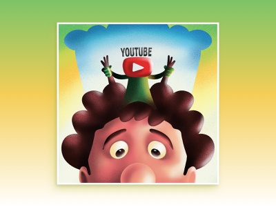 "The ""Youtube"" Ratatouille cooking app cook video videos cooking youtube movie art hollywood ratatouille procreate art procreateapp illustration design applepencil procreate ipadart"