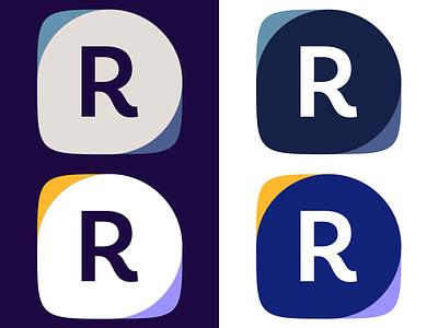 Registration software logo work in progress idea logo