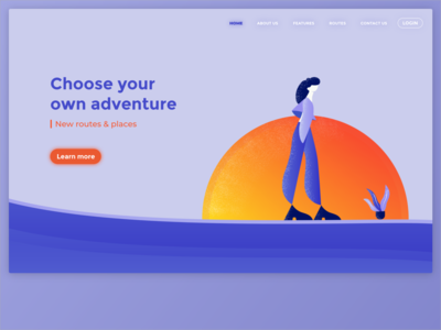 Adventure - Web Page Design