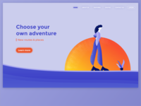 Adventure - Web Page Design