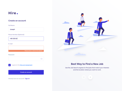 Hire - Job Search Engine