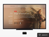 TV Screen + Apple TV [FREEBIE]