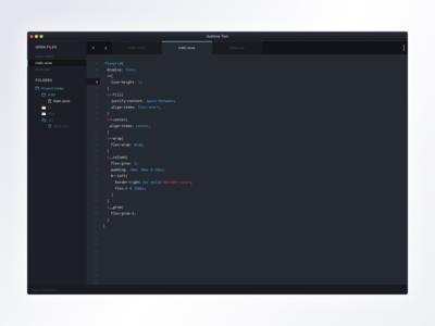 Theme Sublime desktop application web theme text sublime code