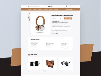 Shopify E-commerce Theme description cart product ui trend theme shopify eshop ecommerce