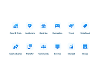 Simple Category Icons