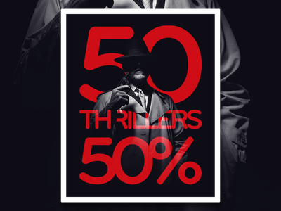 Thrillers - e-commerce campaign
