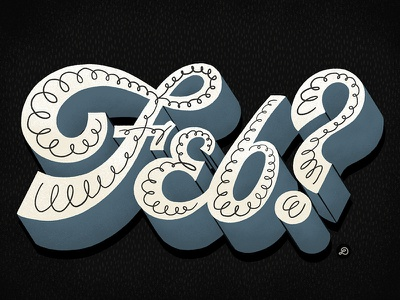 Feb? illustration typography lettering hand lettering graphicdesign design