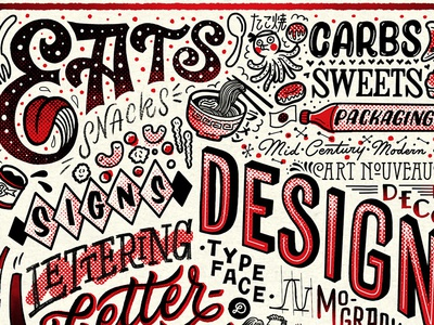 Things I love letterforms illustration typography lettering hand lettering graphicdesign design