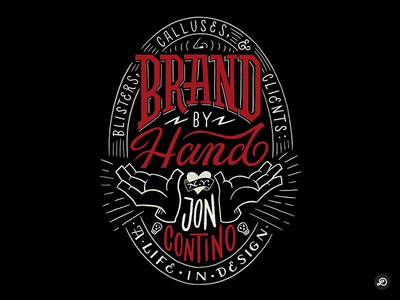Brand by Hand - Goodtype Tuesday bookcover letterforms illustration typography lettering hand lettering graphicdesign design