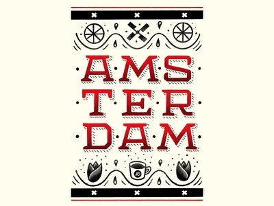 Amsterdam. amsterdam letterforms illustration typography lettering hand lettering graphicdesign design