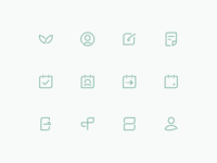 Line Icons For Plant App
