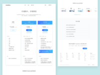 Pricing Page for Teambition