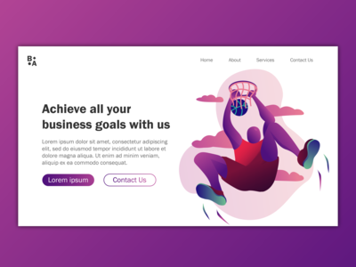 Consultant Landing Page