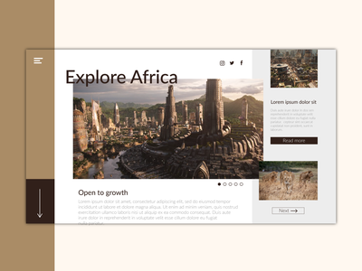 African Landing Page