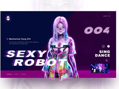 Sexy robot 04
