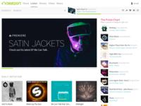 Beatport Streaming Homepage