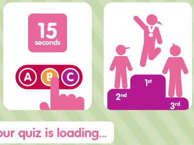 Video Quiz Show instructions science buzz video interactive museum pink