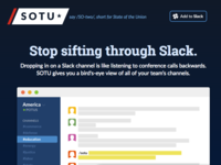 SOTU Landing Page