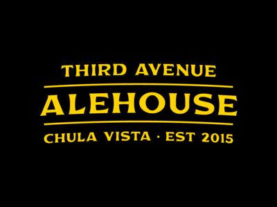 Third Avenue Alehouse - Logo refresh