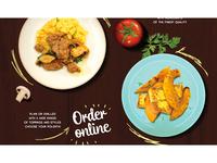 Giallo Street Food Web Site Development