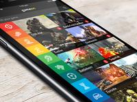 Gameon - App Design