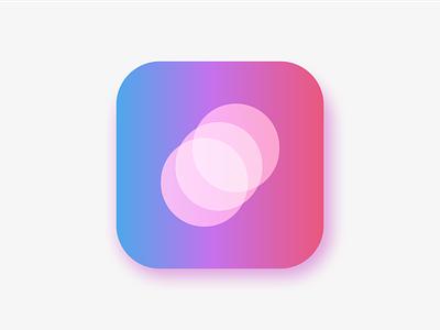 App Icon // Concept design app shadows exposure branding minimal ux ui icon illustration gradient ux design concept design