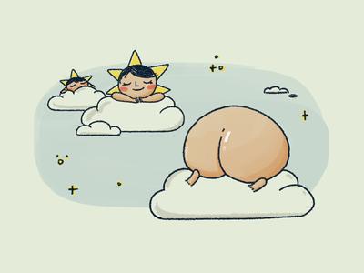 Twinkle twinkle little 🍑