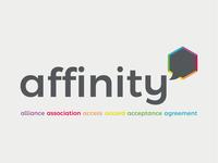 Affinity Logo and Values