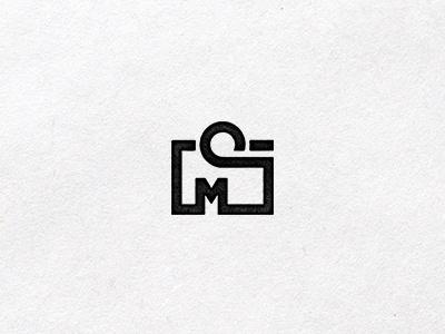CMS Photography Icon logo photograpghy icon mark camera