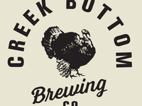 Creek Bottom Brewing Co. Branding