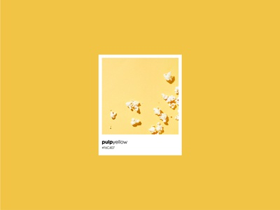 Meero colors - The Pulp Yellow