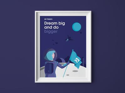 Meero values - Dream big and do bigger