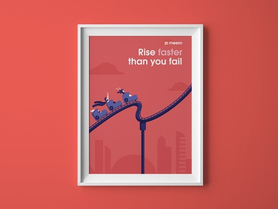 Meero values - Rise faster than you fail