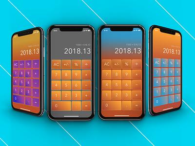 DailyUI Calculator adobe photoshop adobe illustrator ui daily 100 ux sketch mobile app design