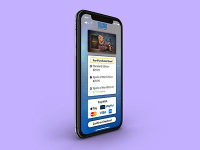 DailyUI Checkout Mobile adobe illustrator adobe photoshop ux sketch mobile app ui design daily 100