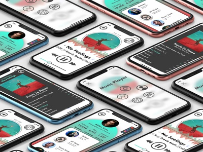 Music Player App Screens