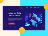 Data Visualization Web Header