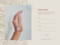 Daily UI - Subscribe Form