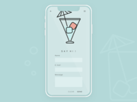 Daily UI - Contact Form