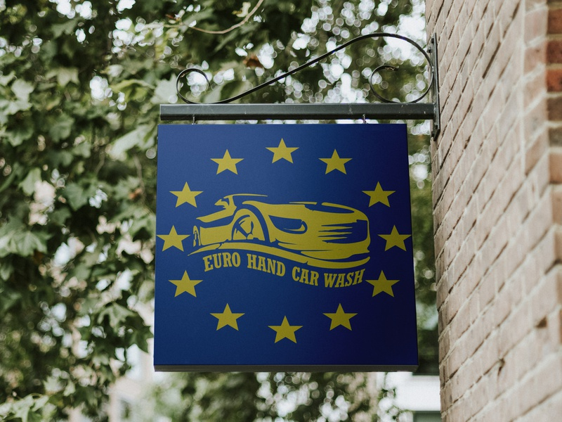 Euro Hand Car Wash By Brajan Skenderaj Dribbble Dribbble