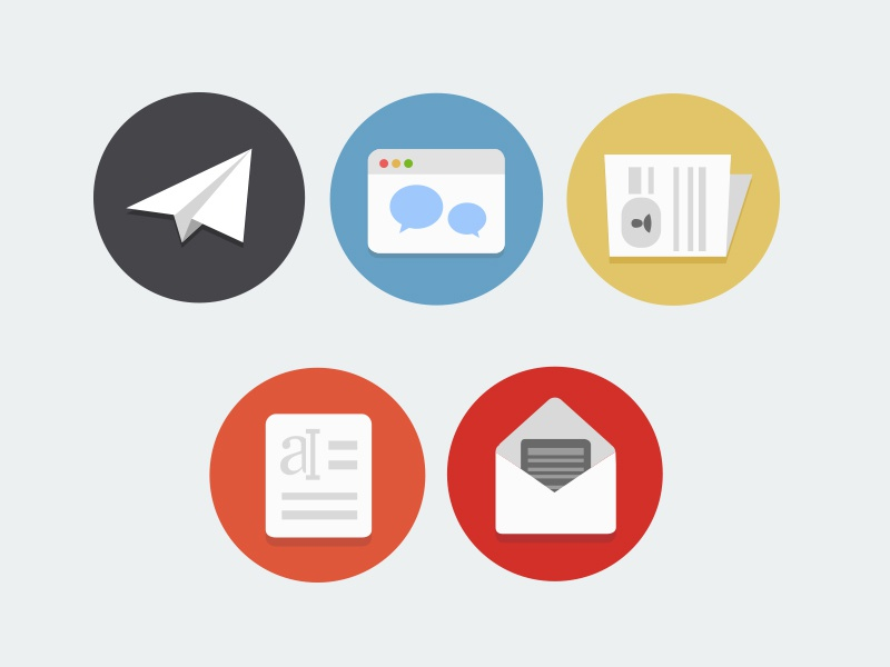 Flat icons for corporate website flat icons icons flat website landing landing page clean clean icons flat design