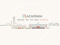 Academia illustration