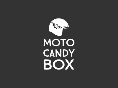 Motocandybox Logo motorcycle helmet helmet motorcycle logo