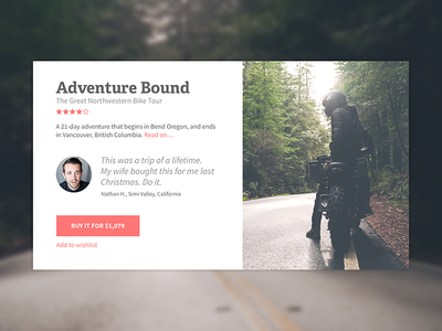 Adventure Bound sketch motorcycles motorcycle card e-commerce ecommerce
