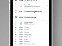 MTR Stockholm Travel Planner