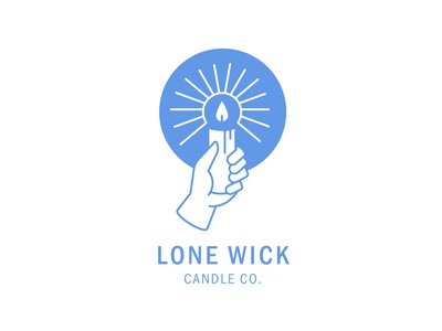 Lone Wick Candle Co Logo