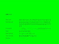 Iceland Typeface   Light - Full Set