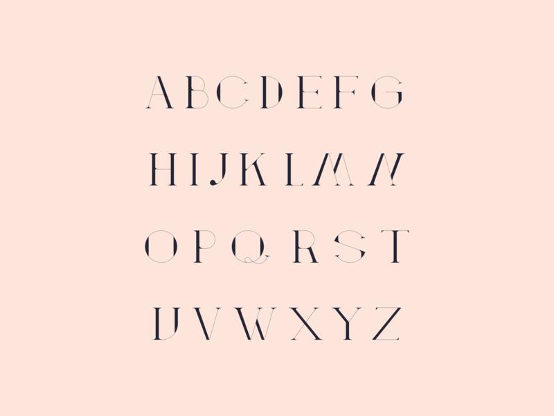 Atticus Typeface font family challenge orange fonts design monthlytypefacechallenge font design font awesome font typefaces typeface designer typeface design type challenge type art type typeface