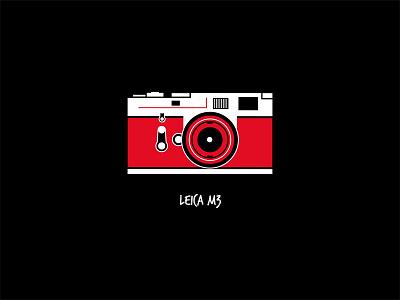 Leica M3 flat design camera icon icon camera leica m3 leica